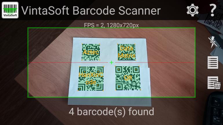 VintaSoft Barcode  NET SDK | Barcode Reader and Barcode