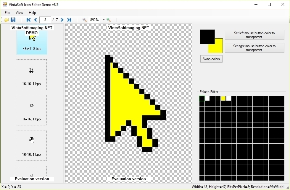 Icon Editor Demo