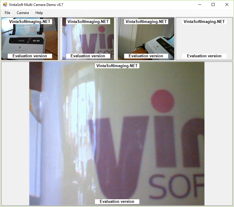 Multi Webcam Demo