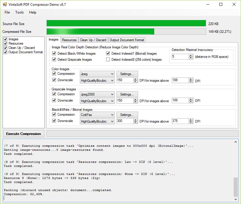 PDF Compressor Demo