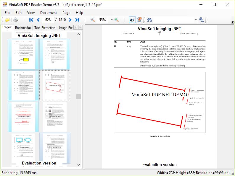 PDF Reader Demo
