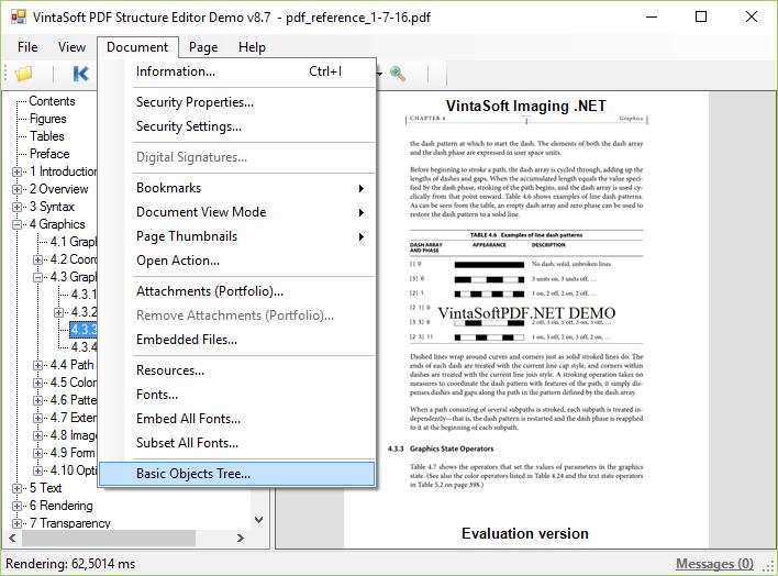 PDF Structure Editor Demo