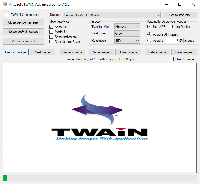 VintaSoft Twain  NET SDK | Image Acquisition Library For Your  NET